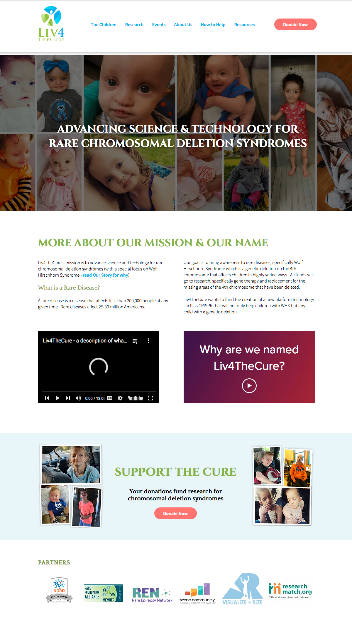 Liv 4 the Cure Home Page